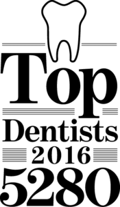 Top Dentists 2016 5280 Magazine