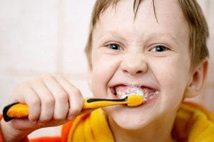 Denver dentist talks about Kids Brushing Teeth
