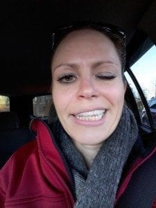Tammy from Metro Dental Care with Numb Face