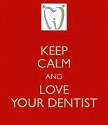 keep calm love dentist