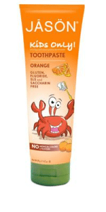 jason kids toothpaste