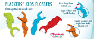 Family Dentist recommends kids flossers