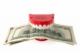 teeth w money