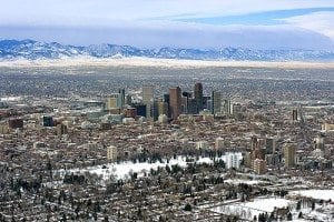 Downtown Denver skyline - Denver Family Dentist